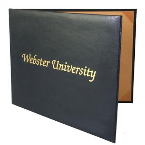 Double Sided Moiré Diploma Folder