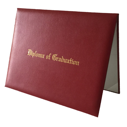 Graduation Certificate Covers