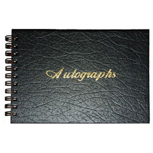 Wire Bound Autograph Album