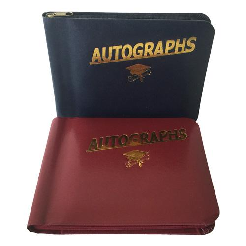Leatherette Autograph Book