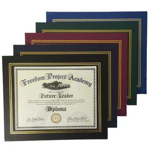 custom leatherette certificate frame bulk certificate frames