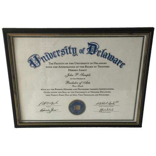 personalized frames for graduation certificates custom graduation