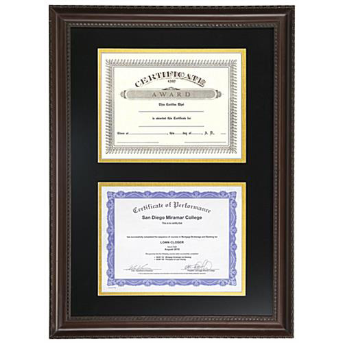 Custom University Diploma Frames, University Certificate & Picture ...