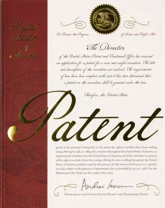 new-design-of-the-cover-of-the-patent-certificate
